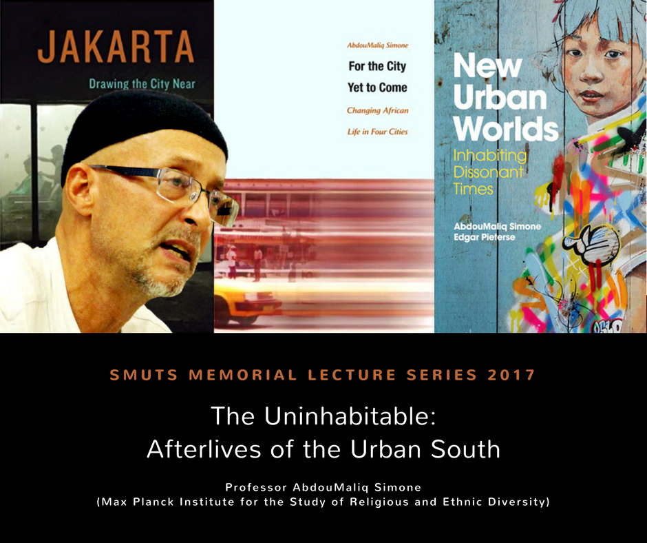 Smuts Memorial Lecture Series 2017
