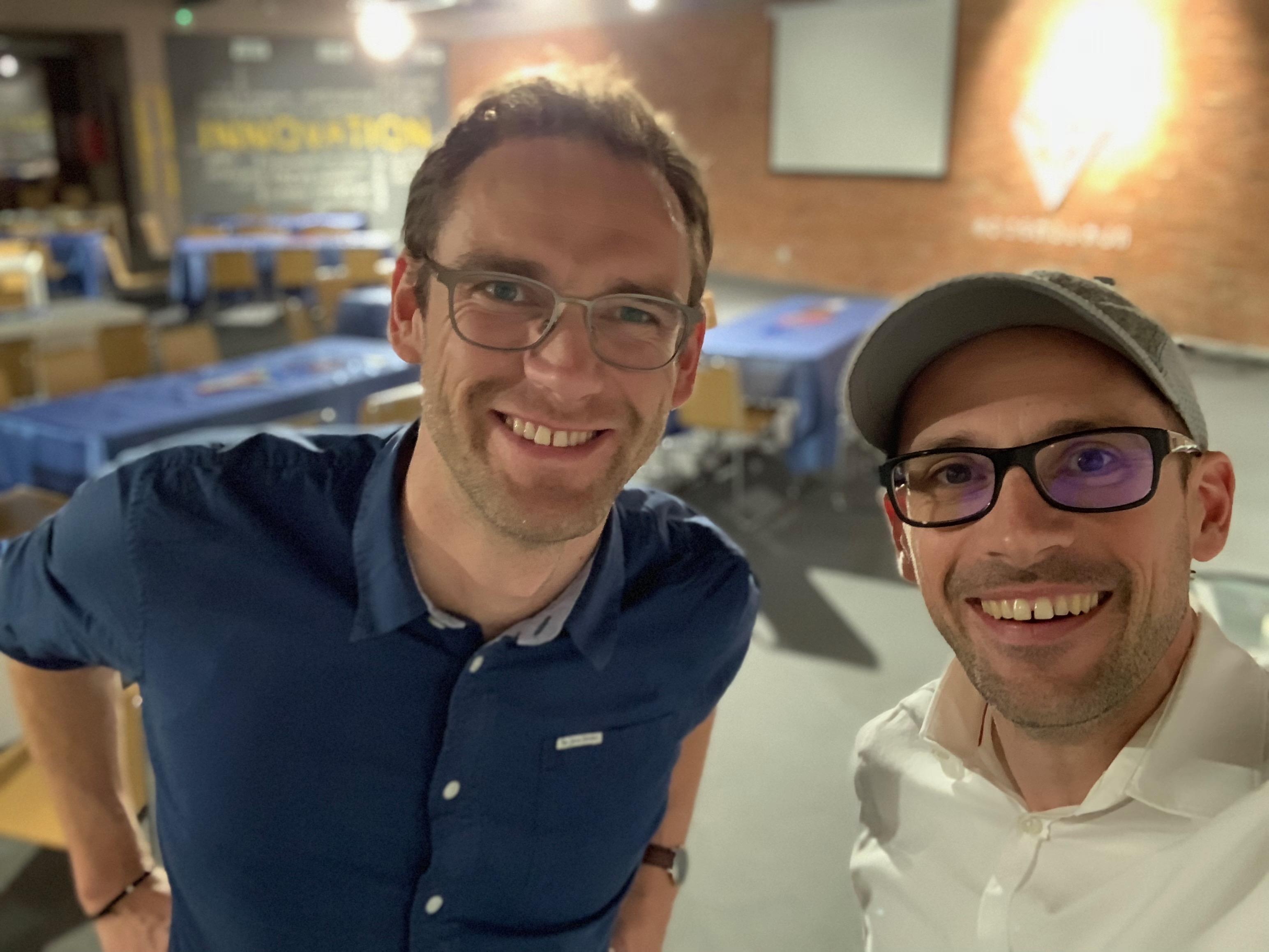 Workshop Trainers David & Sven