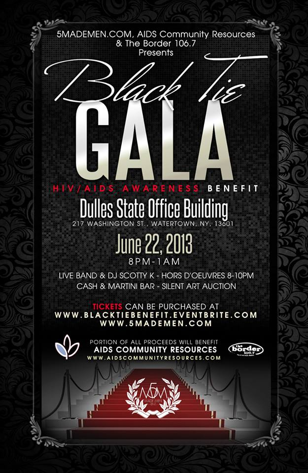 The First Annual Black Tie Gala Quot Hiv Aids Awareness