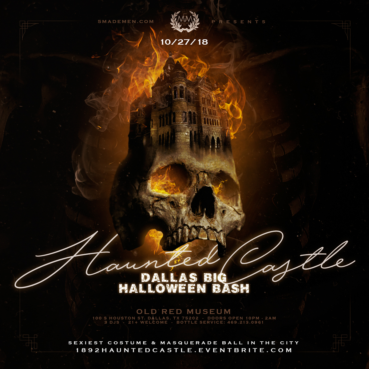 haunted castle - dallas big halloween bash ::: sexiest costume