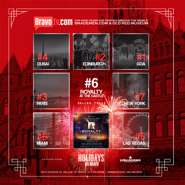 Dallas New Years Eve 2020.Harlem Nights Royalty Nye 2020 Casino Fireworks Watch