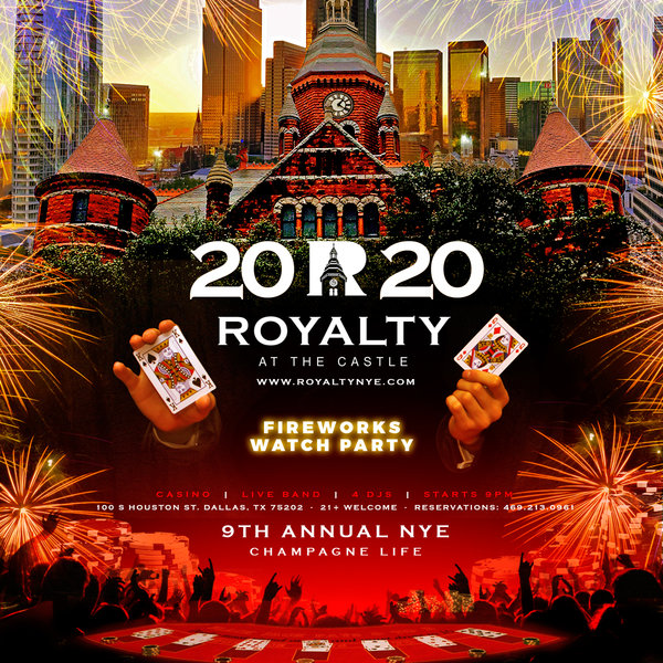 New Years Eve 2020 Houston Tx 9th Annual New Years Eve 2020 Champagne Life: ROYALTY at The