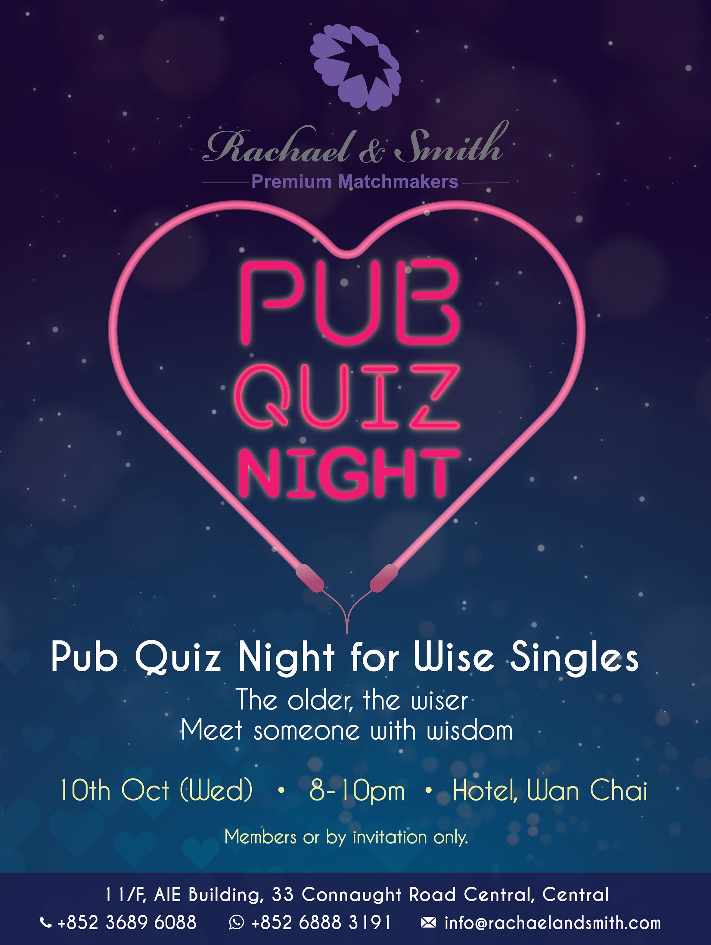 singles pub quiz