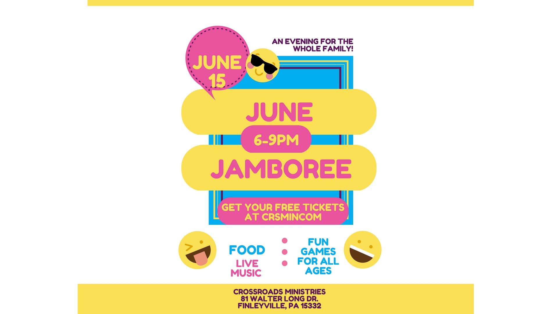 June Jamboree 2018 @ Crossroads Ministries on June 15