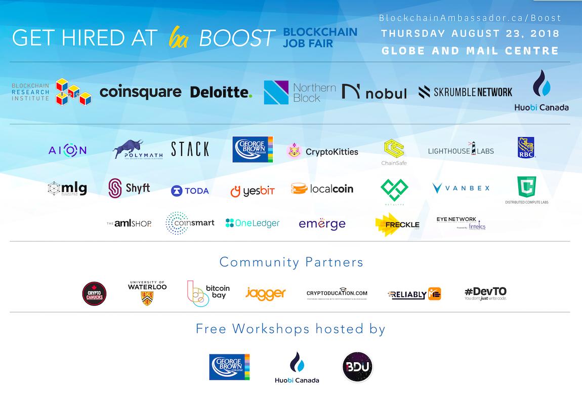 Blockchain Job Fair
