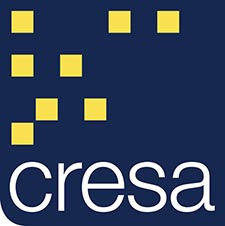 Cresa logo, tenant representation firm, denver office space, real estate firm