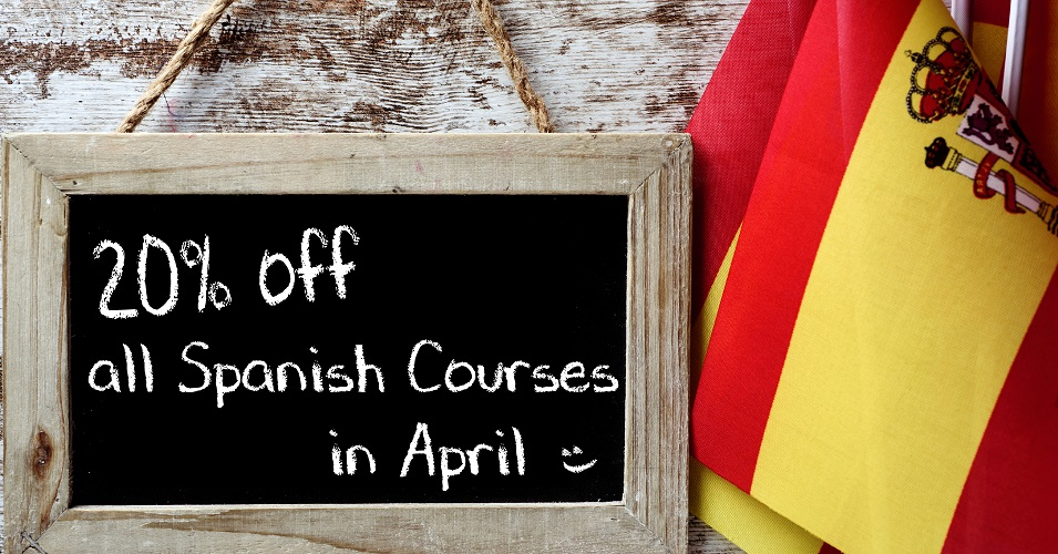 Register in April and get 20% off