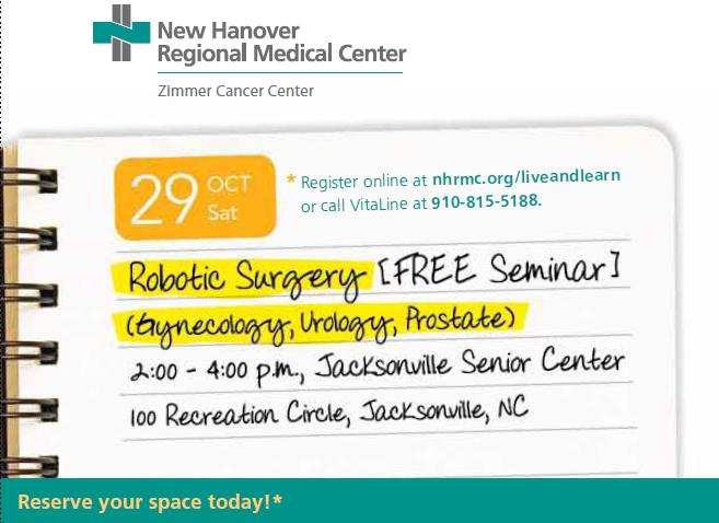 Robotic Surgery Seminar