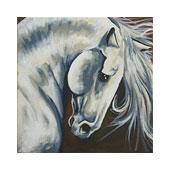 White Stallion to Paint