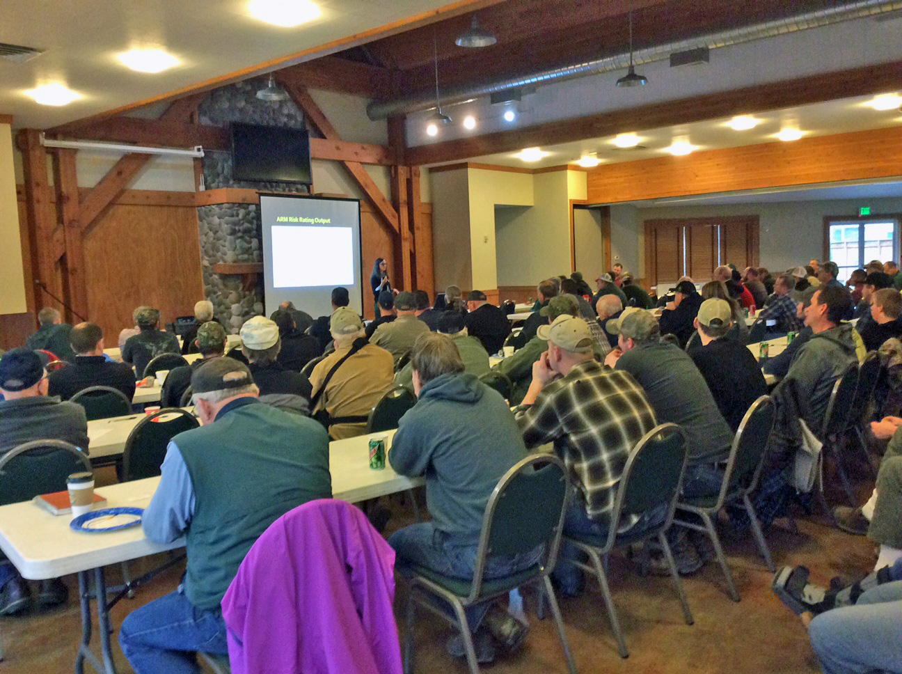 Past Manure Nutrient Management training event.