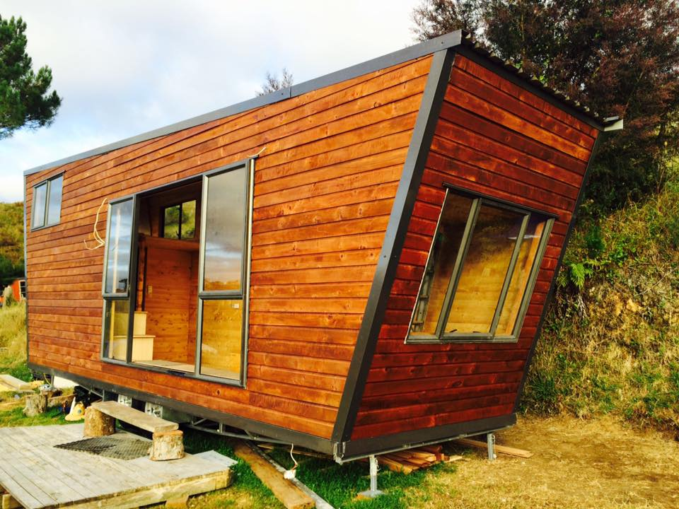 Jawa NZ Workshop Tiny House Outside