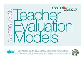 NJEA/NJPSA Teacher Evaluation Symposium 9/20/12