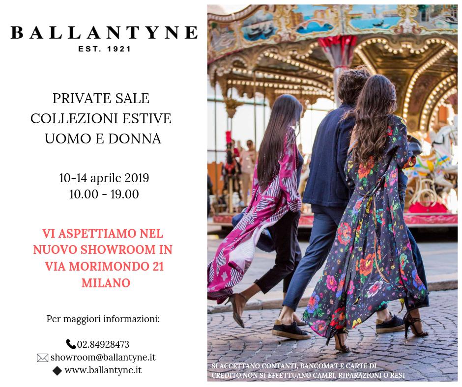 Invito private sale ballantyne