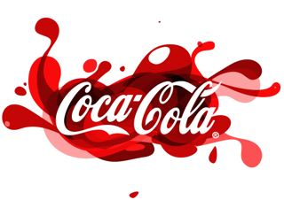 CocaCola spash