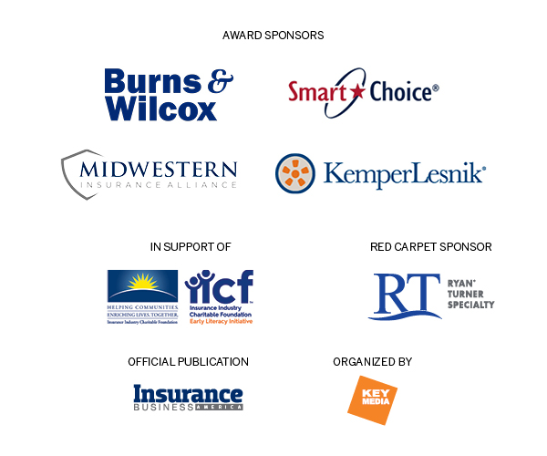 Brought to you by our event sponsors Burns & Wilcox, Ryan Specialty Group, Smart Choice, Midwestern Insurance Alliance, KemperLesnik, and Insurance Industry Charitable Foundation