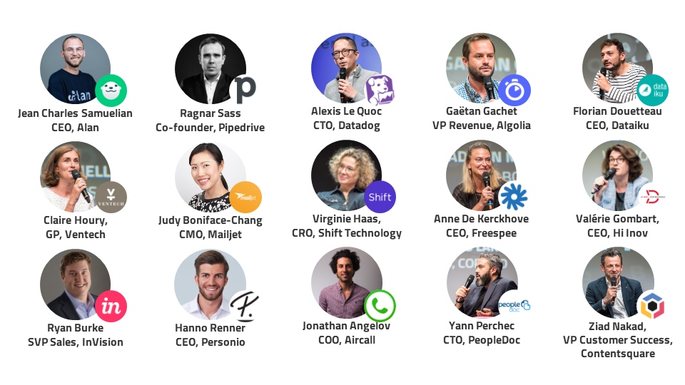Speakers B2B Rocks Paris