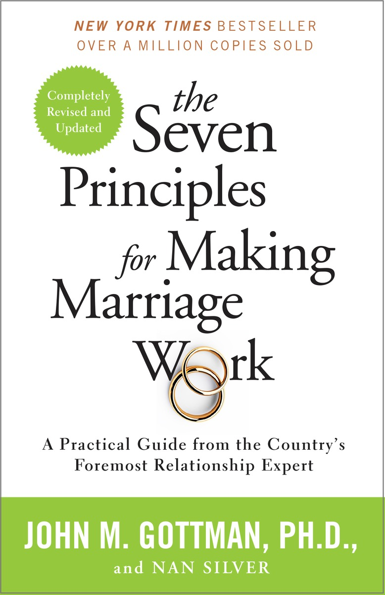 The book the Seven Principles of Making Marriage Work