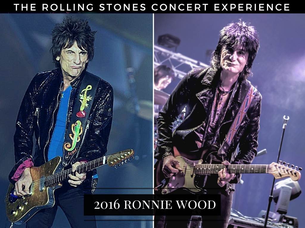 Ronnie Wood VS Ronnie Wood Experience