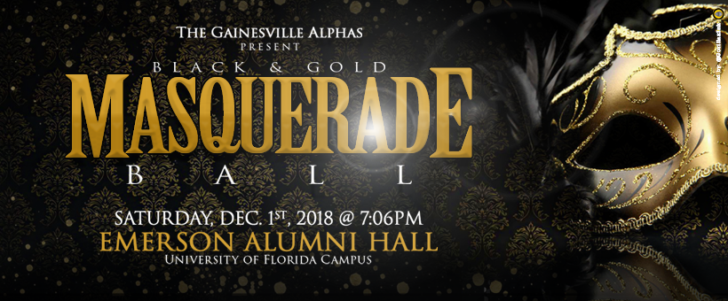 Black & Gold Masquerade Ball 2018