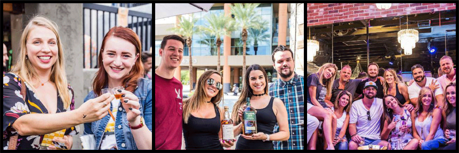Scottsdale Whiskey Festival Picture Collage