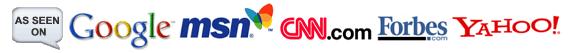 as seen on google, msn, cnn, forbes