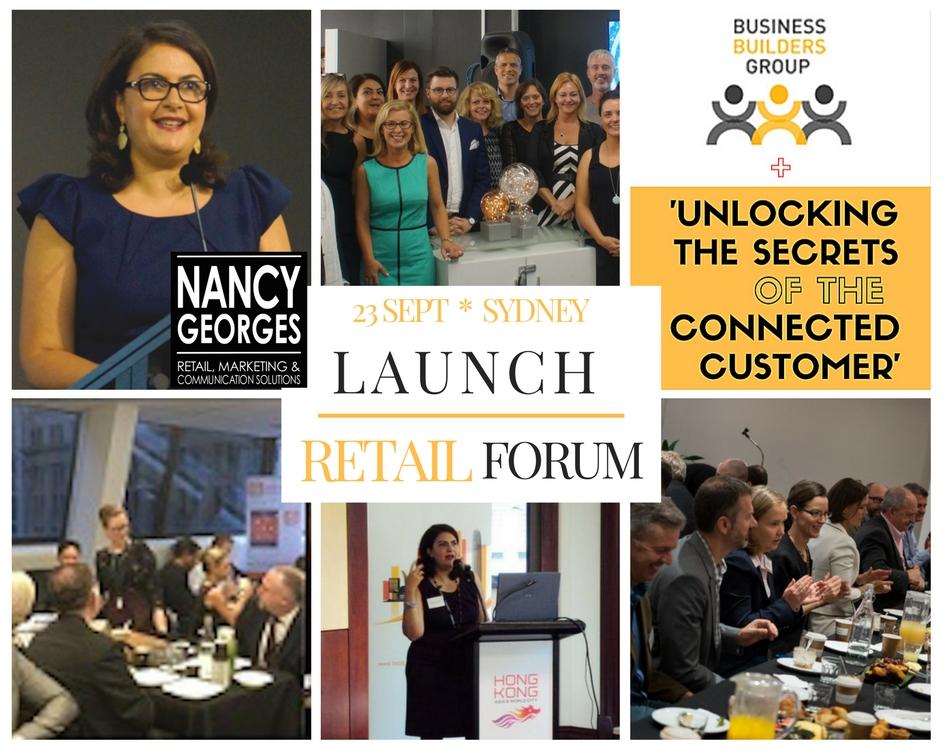 Nancy Georges Launch BBG The Retail Forum