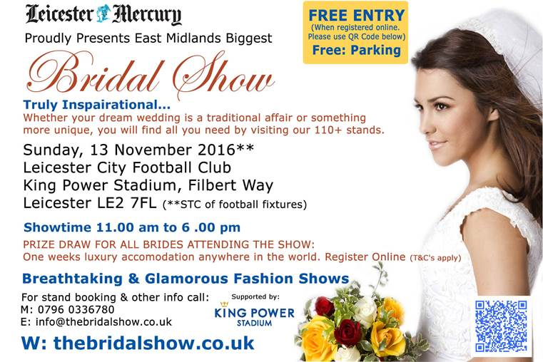 King Power Stadium (LCFC) Wedding Show - Biggest in East ...