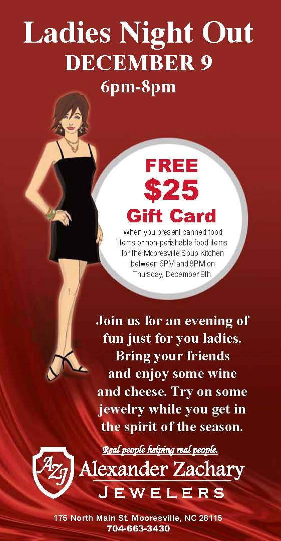 Alexander Zachary Jewelers Holiday Ladies Night Out Tickets Thu Dec 9 2010 At 6 00 Pm