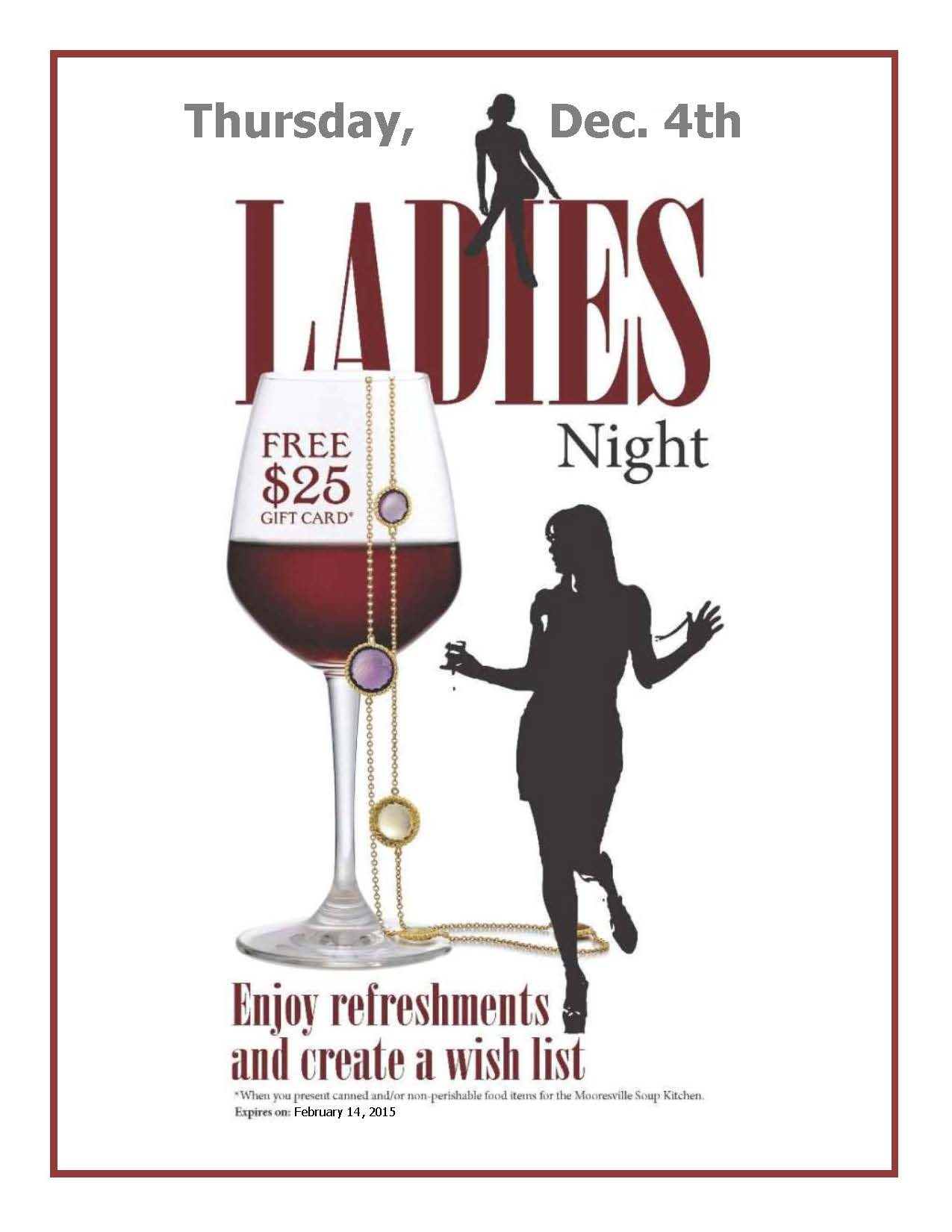 Ladies Night 2014 Invitation