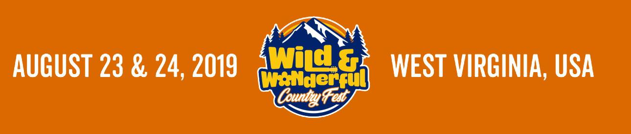 Wild & Wonderful Country Fest 2019