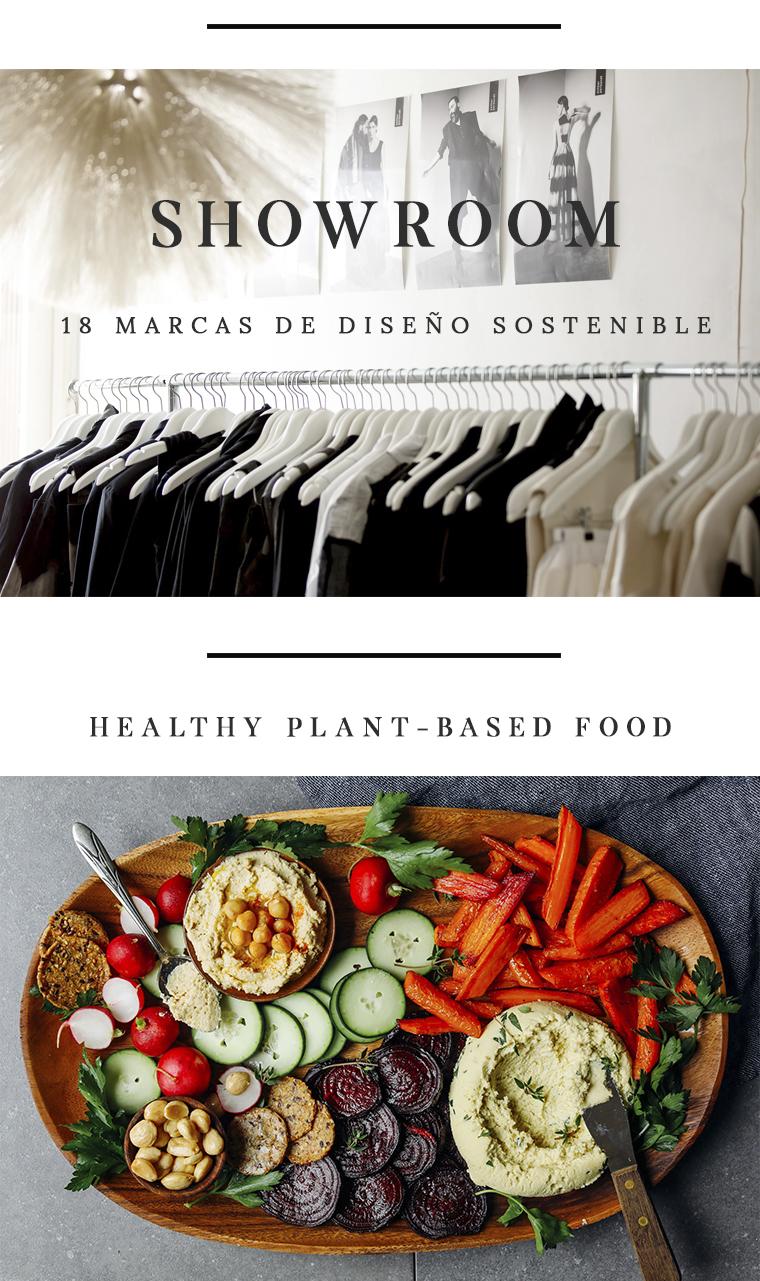 Showroom sostenible + Vegan Food Eco Fashion Fest