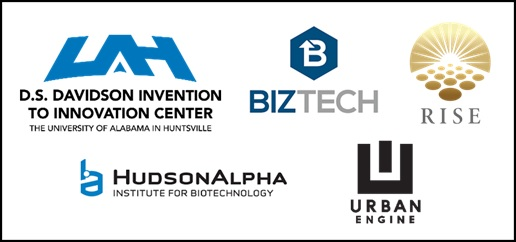 D.S. Davidson Invention to Innovation Center, BizTech, Rise, HundsonAlpha, and Urban Engine