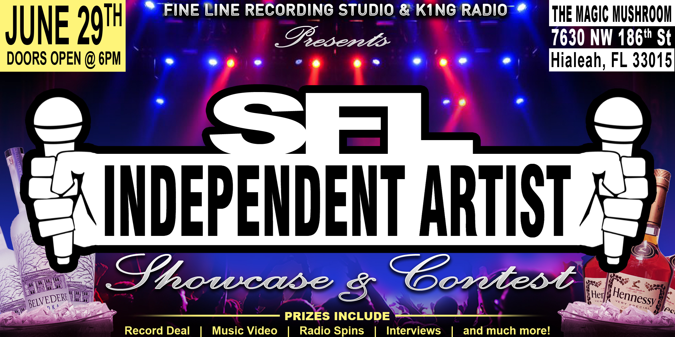 SFL Independent Artist Showcase and Contest