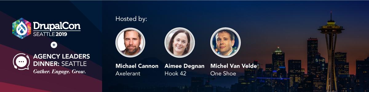 Agency Leaders Dinner Seattle Hosts