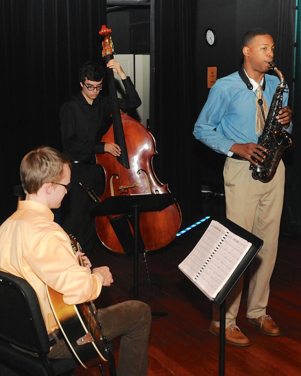 musicians at fall benefit