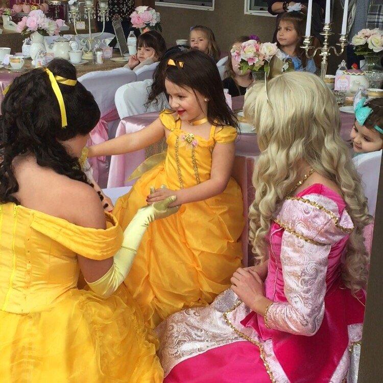 Princess Tea party in DFW