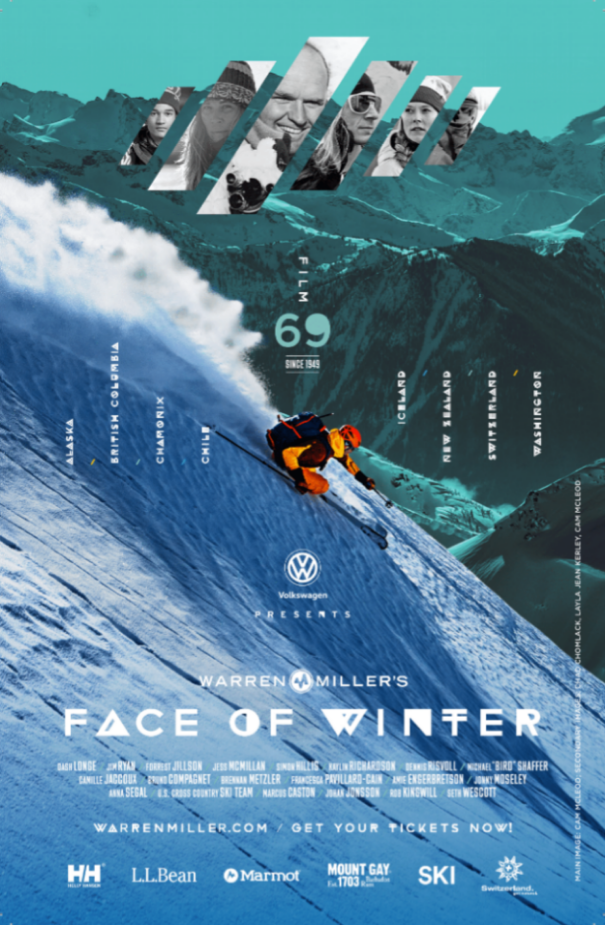 WME Face of Winter Poster