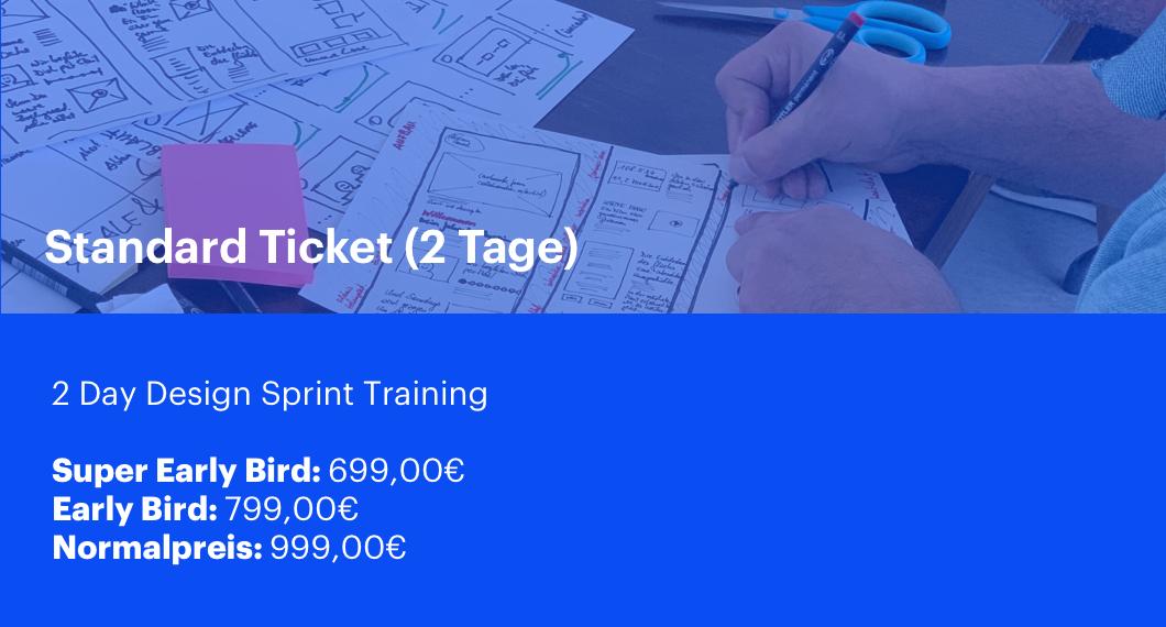 Design Sprint Training Berlin Standard Ticket