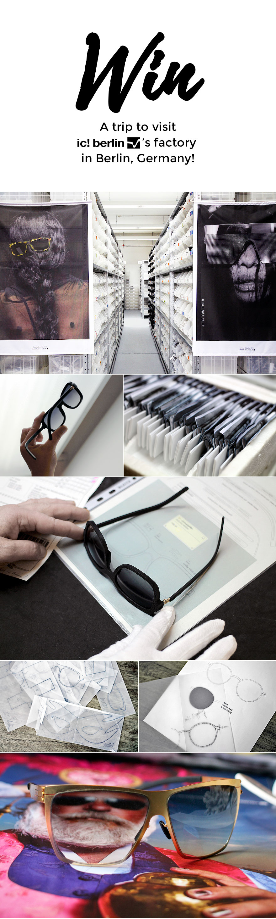Win a trip to Berlin to visit ic! berlin's factory | Chinatown Optical