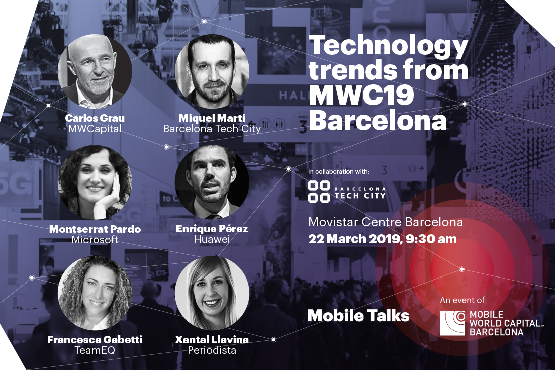 Mobile Talks - Tech trends MWC19 - Speakers