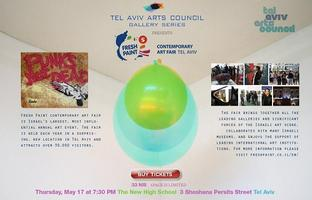 INVITATION: Fresh Paint Contemporary Art Fair, Thurs. May...
