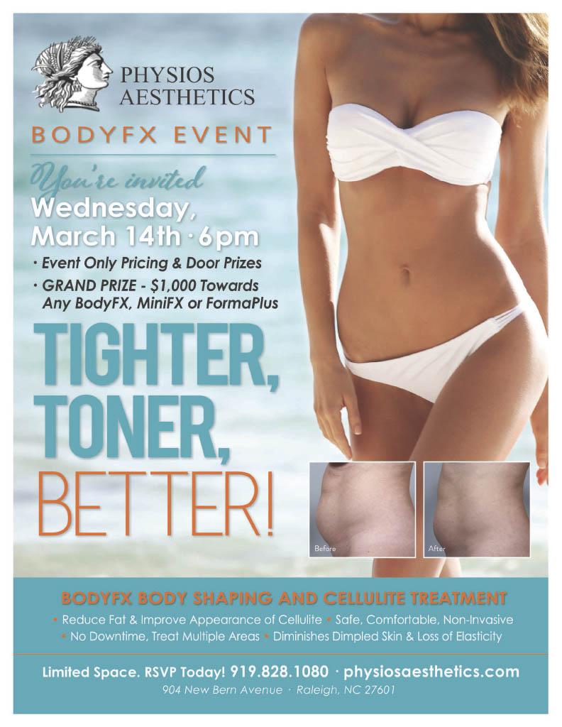 BodyFX Event Flyer
