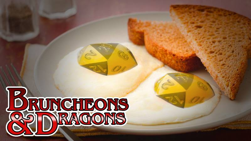 Bruncheons and Dragons Logo