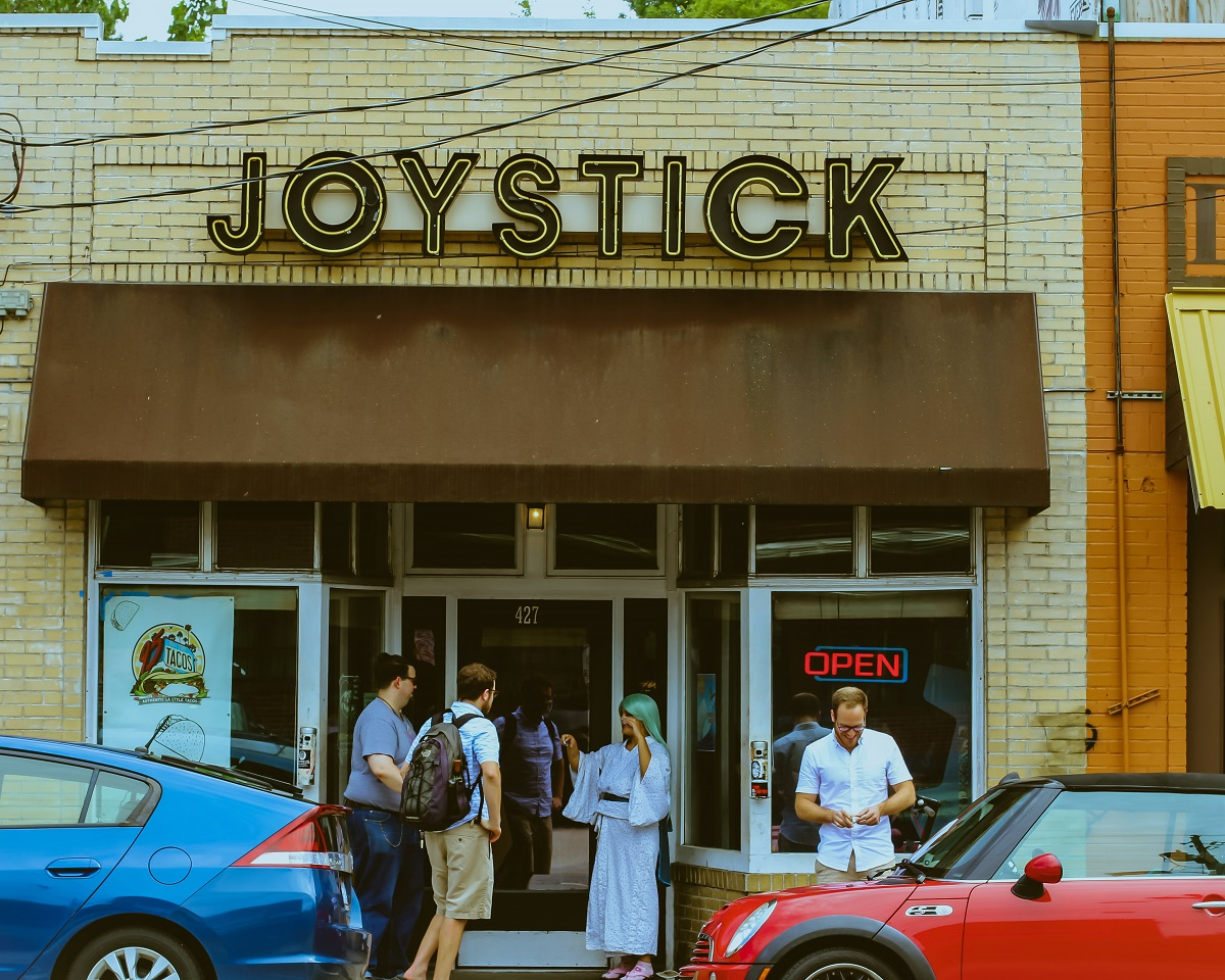 Outside of Joystick Gamebar