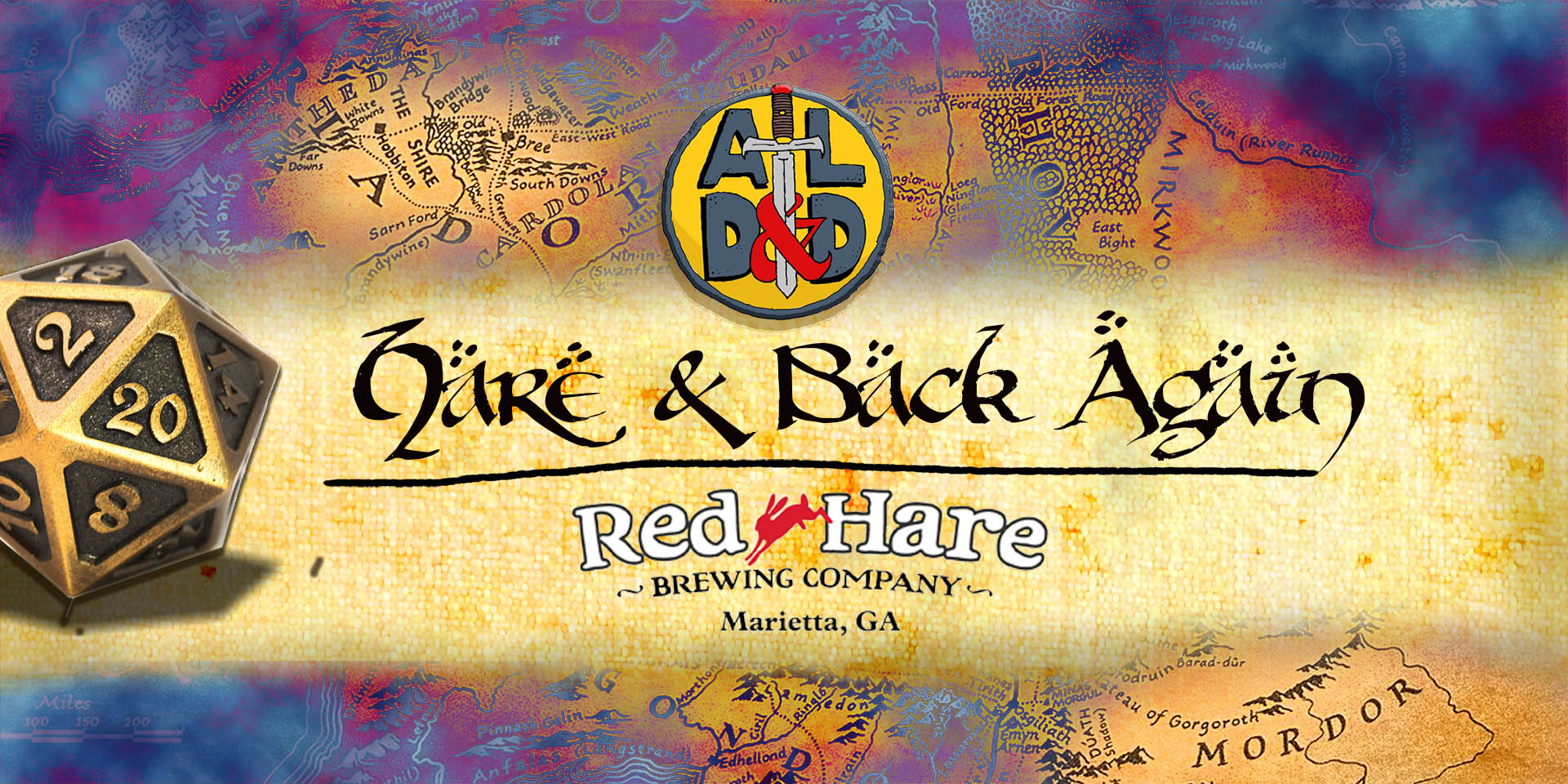 Hare and Back Again Logo