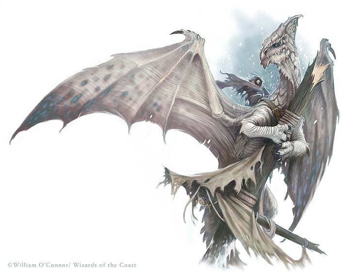 White Dragon image, copyright William O'Connor/Wizards of the Coast