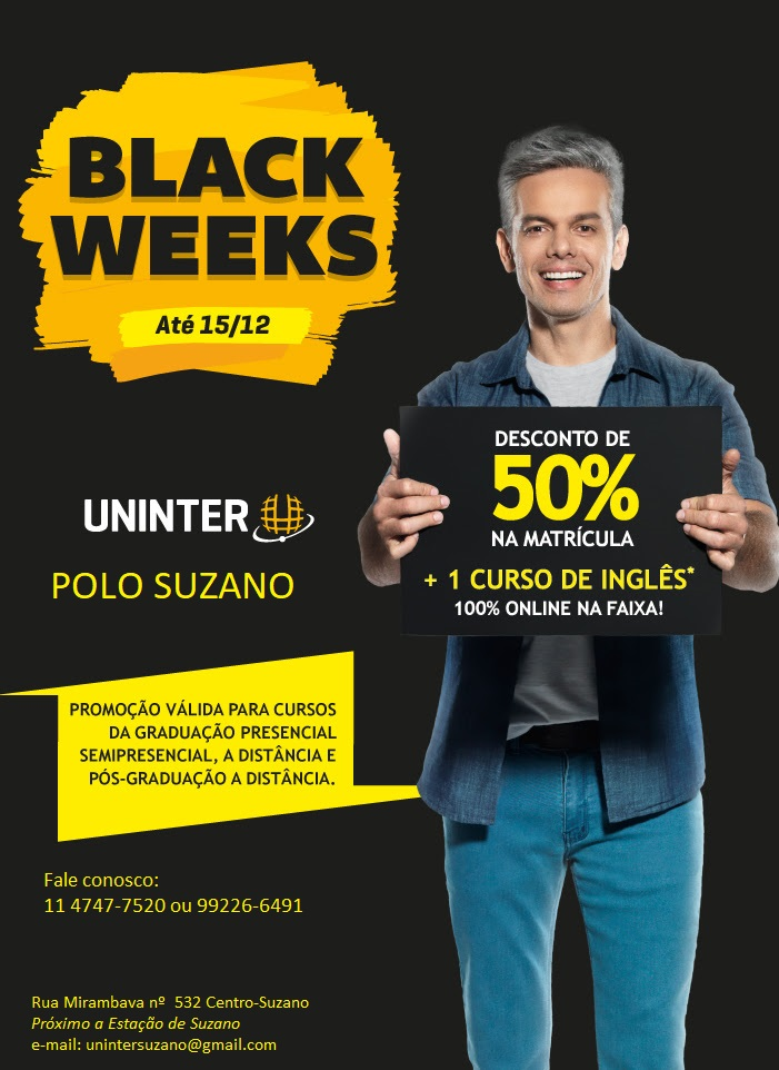 BLACK FRIDAY - UNINTER SUZANO