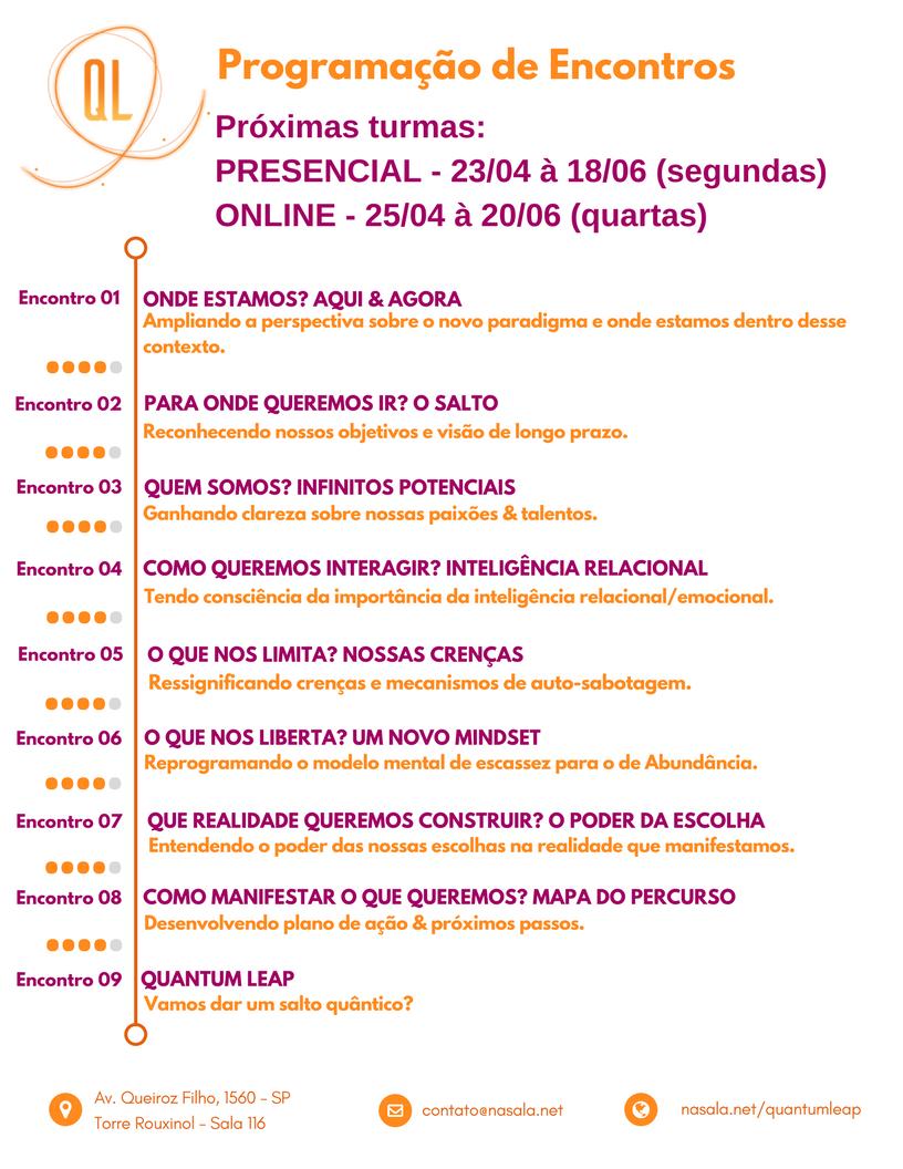 Agenda de Encontros QL