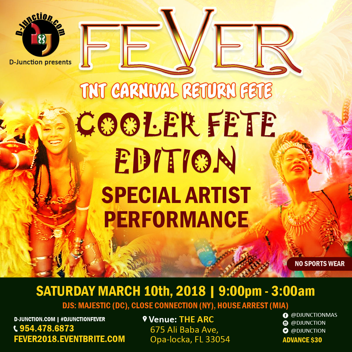 FEVER THE CARNIVAL RETURN FETE