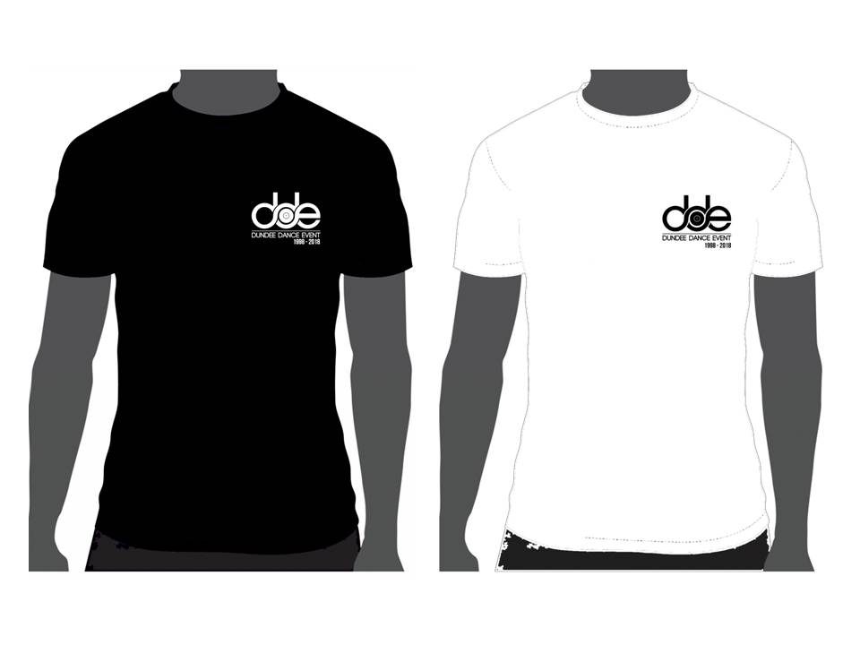 DDE 20th anniversary tees